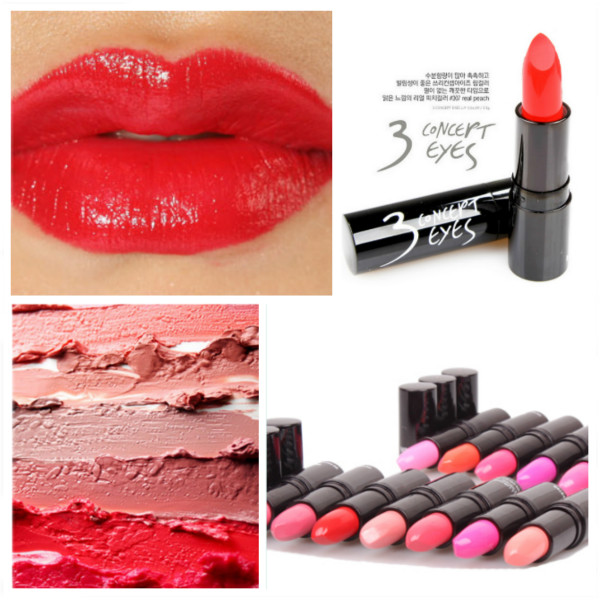 14 Color 3CE Moisturizing Sexy Lipstick Tube 3 Concept Eyes Makeup