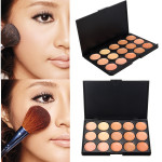 15 Colors Face Camouflage Cosmetic Cream Facial Concealer Palette Makeup