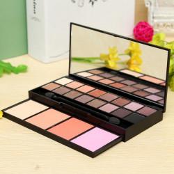 16 Colors Eyeshadow Makeup Powder Cosmetic Blush Palette Set