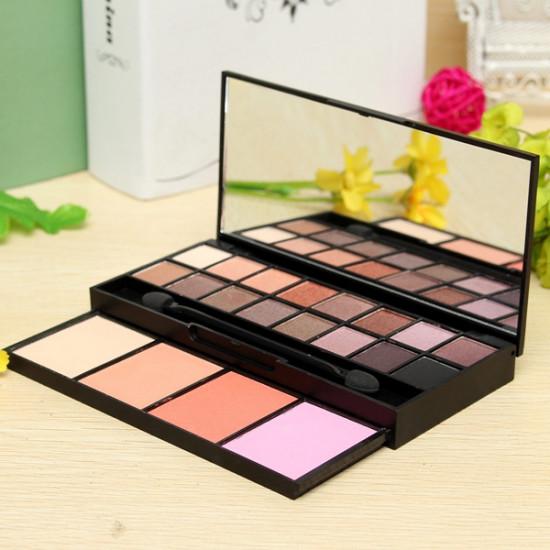16 Colors Eyeshadow Makeup Powder Cosmetic Blush Palette Set 2021
