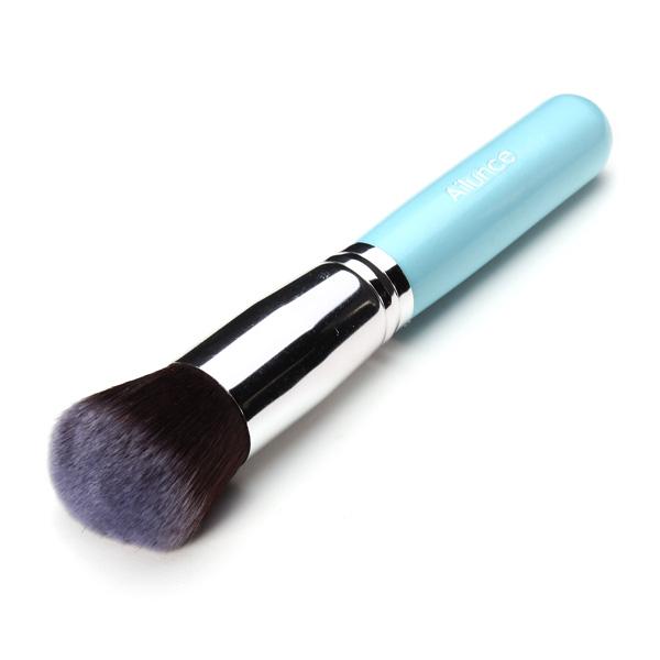1Pcs Blue Foundation Makeup Cosmetic Blush Brush Tools Makeup