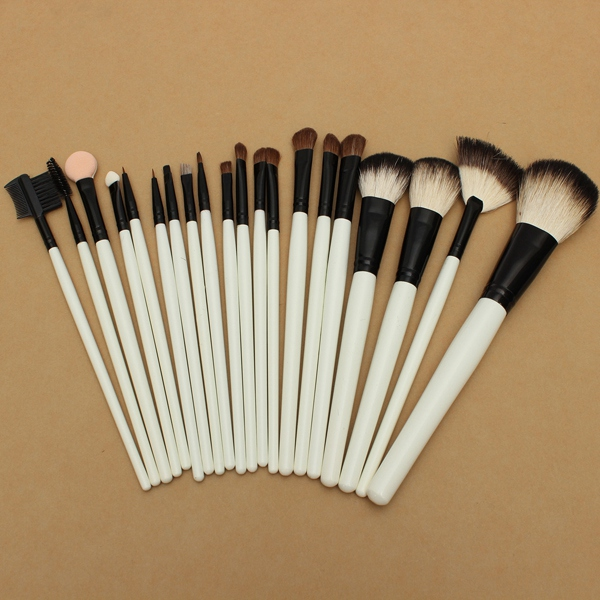 20PCS Cosmetic Makeup Foundation Blush Eye Shadow Eyebrow Brush Set Makeup