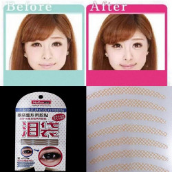 240 Pairs 2 In 1 Double Eyelid Tape Eye Bag Lying Silkworm Sticker