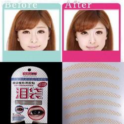 240 Pairs 2 In 1 Double Eyelid Tape Eye Bag Lying Silkworm Sticker