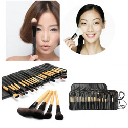 24pcs Professional Foundation Cosmetic Makeup Brushes Set Kit