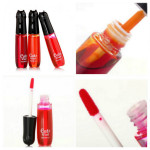 2 In 1 MANSHILI Watery Liquid Lip Gloss Blusher 3 Colors