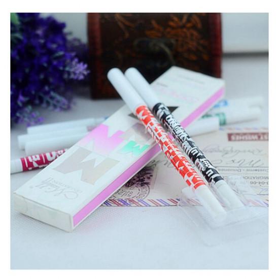 2Pcs Waterproof Glitter Eye Shadow Eyeliner Eye Liner Pen Pencil 2021