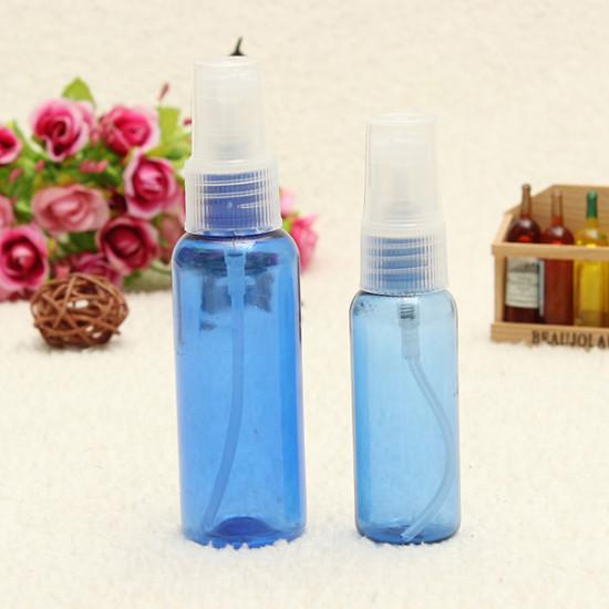 30/50ML Transparent Plastic Water Spray Bottle Atomizer Container 2021