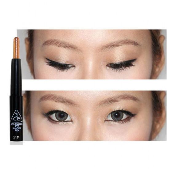 3CE Eye Makeup Bright Eyes Pearl Pen Brighten Stick Eye Shadow 2021