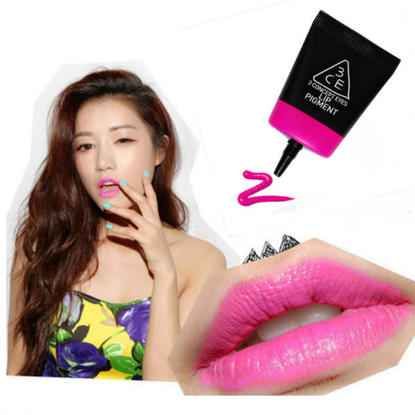 3CE Liquid Lip Gloss Sexy Charming Color Mixing Makeup