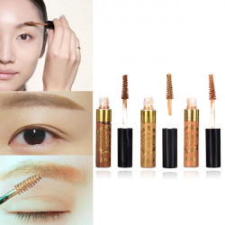 3 Colour Waterproof Professional Eyebrow Cream Brow Mascara Makeup Tool