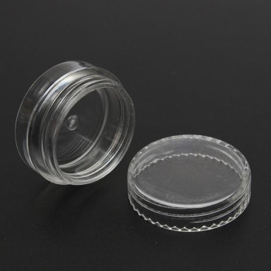 3ml Empty Transparent Cosmetic Jar Pot Ornament Cream Container 2021