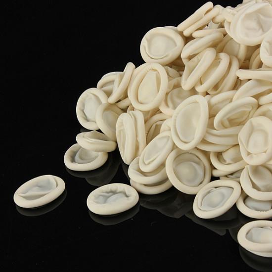 400pcs Disposable Protective Latex Bonding Tissue Finger Cots 2021