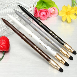 4 Colors 2 In 1 Eyeliner Pencil & Eye Shadow Sponge Pen Makeup Tool