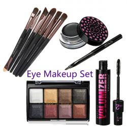 4 Essential Tools Kit Get Started Eye Makeup Set Cosmetics