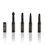 4 In 1 Multifunction Eyeshadow Eyebrow Lip Brushes Set Makeup Tool