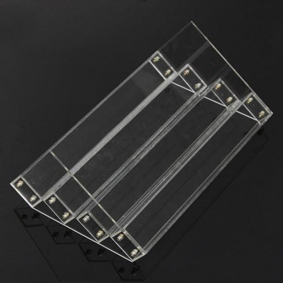 4 Tiers Acrylic Nail Polish Display Stand Cosmetic Organizer 2021