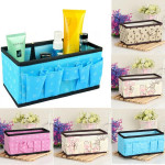 5 Colors Multifunction Folding Makeup Cosmetics Storage Box Makeup