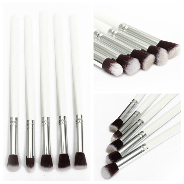 5Pcs Professional Foundation Eyeshadow Blusher Blending Makeup Brush Makeup