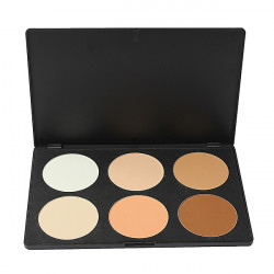 6 Colors Eye Face Concealer Camouflage Makeup Palette