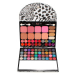 72 Colors Makeup Eyeshadow Lipgloss Blush Powder Palette Leopard Set Makeup
