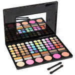 78 Colors Eyeshadow Makeup Powder Palette Cosmetic Blush Set Makeup