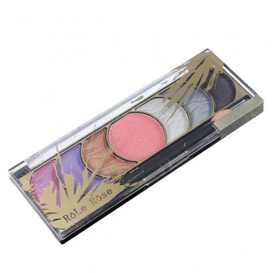 7 Colors Makeup Cosmetic Eyeshadow Powder Palette with Brush 2021