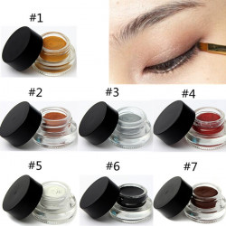 7 Colors Waterproof Makeup Eyeliner Eye Shadow Gel