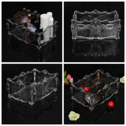 Acrylic Butterfly Cosmetic Makeup Case Storage Holder Organizer