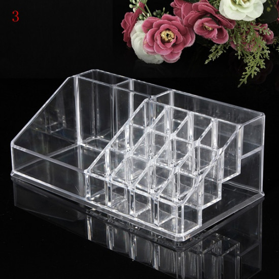 Acrylic Clear Container Makeup Case Cosmetic Storage Holder Organizer 2021