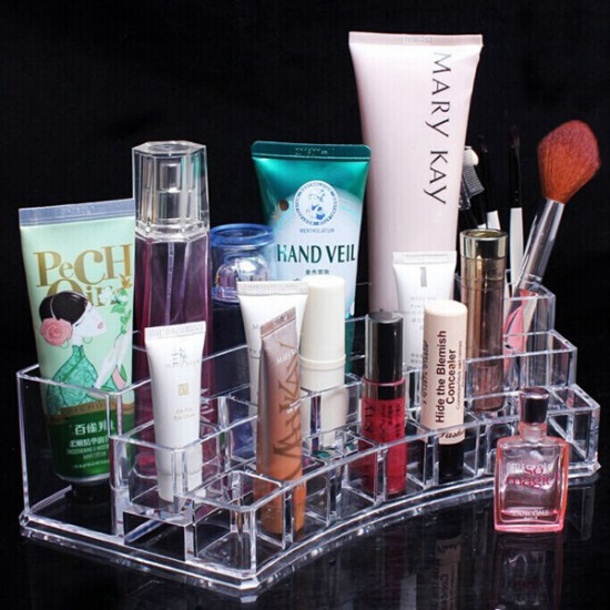 Acrylic Clear Cosmetic Container Makeup Storage Organizer 2021
