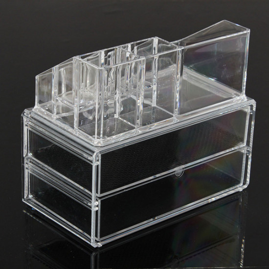 Acrylic Container Makeup Case Cosmetic Storage Holder Organizer 2021