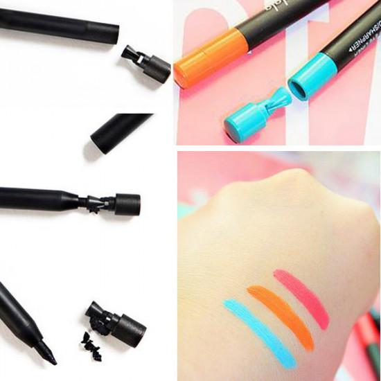 BALALA Colorful Waterproof  Eyeliner Pencil Long Lasting Eyeshadow Pen 2021