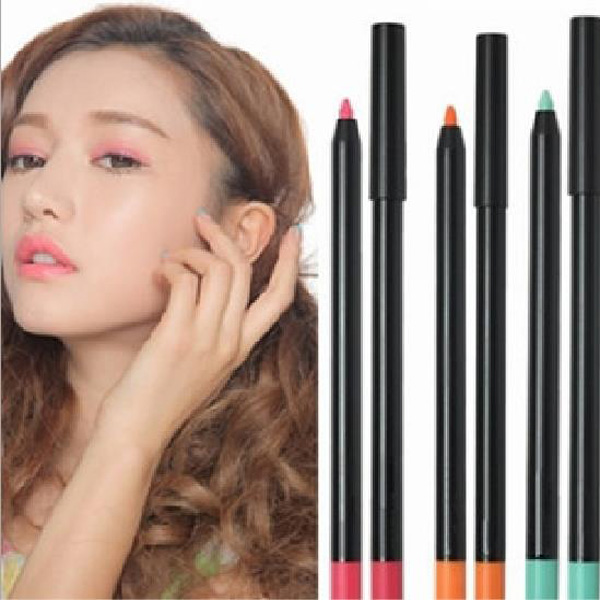 BALALA Colorful Waterproof  Eyeliner Pencil Long Lasting Eyeshadow Pen Makeup