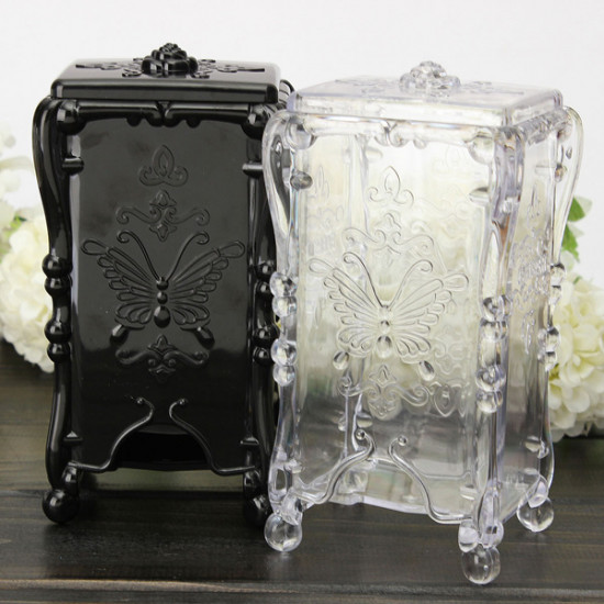 Butterfly Roses Makeup Cosmetic Storage Case Container Organizer 2021