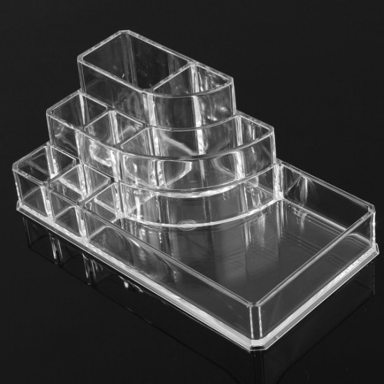 Clear Acrylic Makeup Cosmetic Box Organiser Display Storage Case 2021