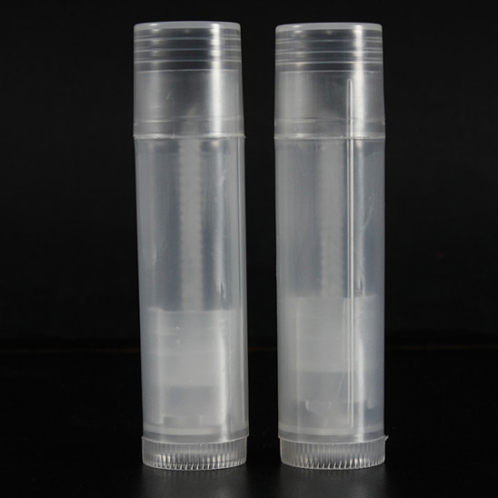 Empty Clear Lip Balm Tubes Containers Transparent Lipstick 2021