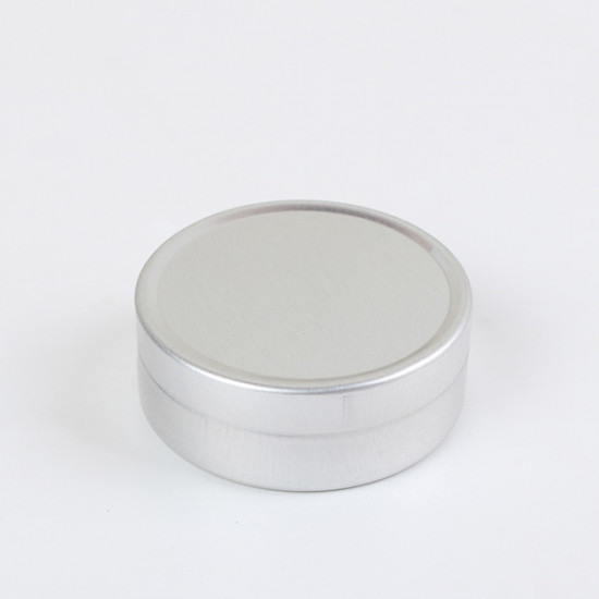 Empty Cosmetic Pot Jar Tin Container 10ml/20ml 2021