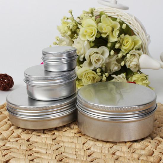 Empty Cosmetic Pot Jar Tin Container 15ml/50ml/100ml/150ml 2021