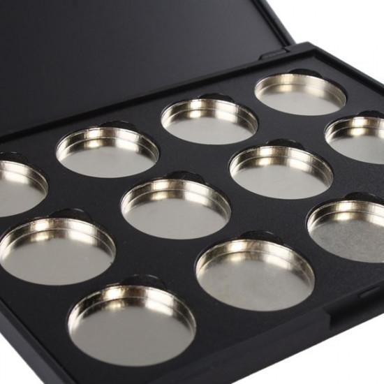 Empty Magnetic Makeup Eyeshadow Concealer Pigment Aluminum Palette Pan 2021