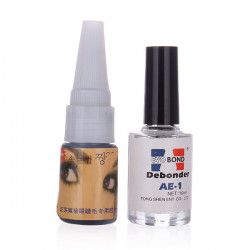 False Eyelash Extension Adhesives Glue + Remover Makeup Set