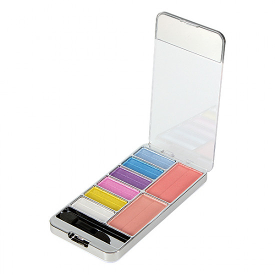 Fashion Insiration 9-Color Eye Shadow Eyeshadow Powder Palette 2021