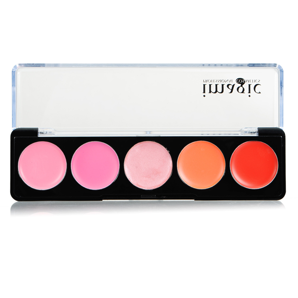 IM 5 Colors lipstick Lip Gloss Palette Makeup