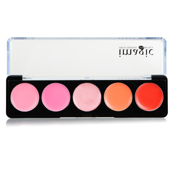 IM 5 Colors lipstick Lip Gloss Palette