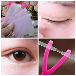 Instant Invisible Double-fold Double Eyelids Fiber Tape Sticker