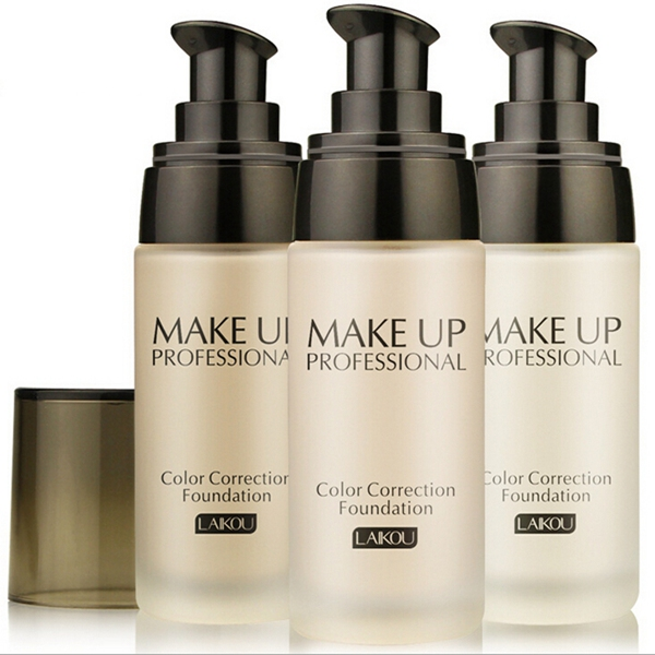 LAIKOU 40ml Liquid Foundation Whitening Concealer Makeup Tool