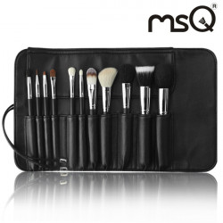 MSQ 11Pcs Professional Goat Hair Makeup Cosmetic Brushes Sets Kit