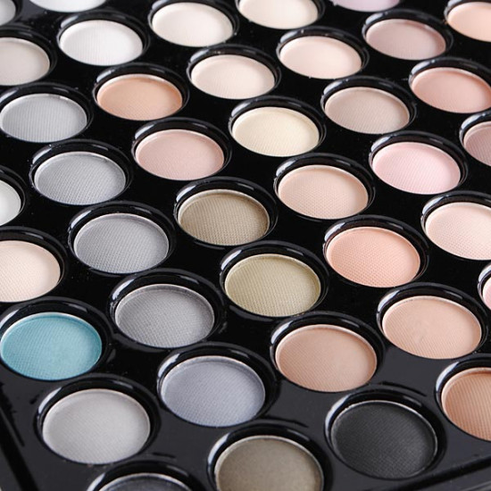 MSQ 88 Colors Makeup Cosmetic Eyeshadow Palette Earth Tone Series 2021