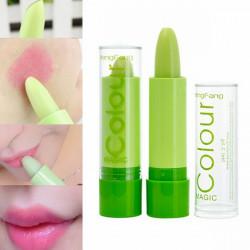 Magic Green Color Changing Lip Makeup Long Lasting Lipstick Cosmetic
