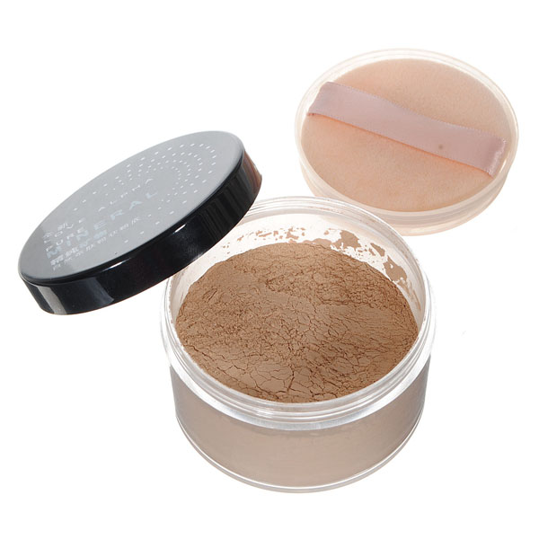 Makeup Cosmetic Mineral Face Skin Loose Powder Foundation Makeup
